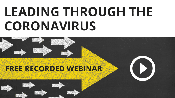 Leading Through the Coronavirus Webinar Recording