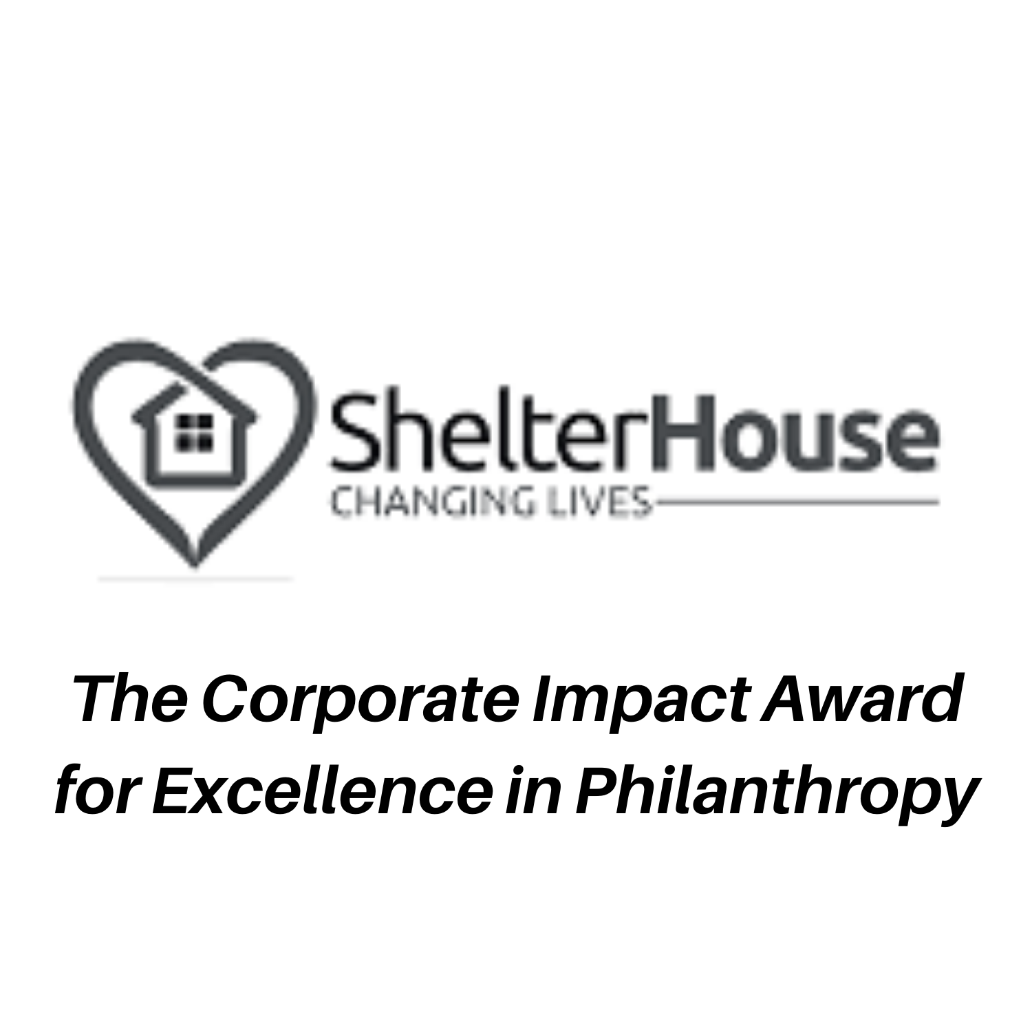 The Corporate Impact Award for Excellence in Philanthropy (1)