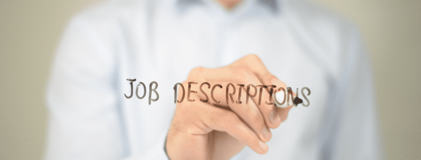 Job Titles, Job Descriptions and their Impact on your Business